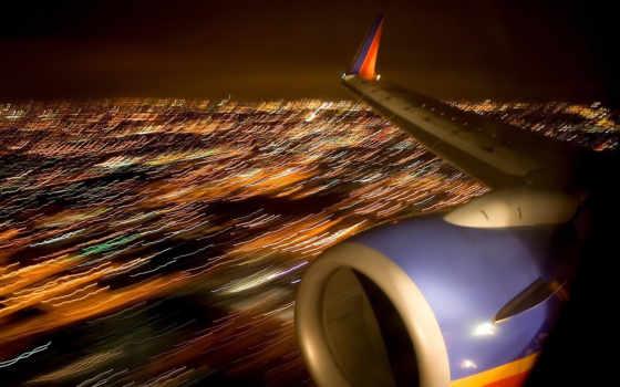 самолёт, авиация, турбина
