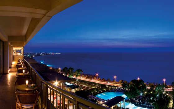 пляж, amathus, hotel, родос, отеля,