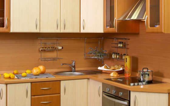 кухня, современная, деревянный