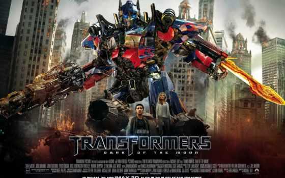 трансформеры, optimus, side, луны, темная, prime,
