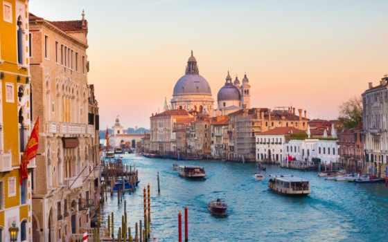 canal, grand, venice, канал, italian, italy, гранд, venezia, венеции, санта,