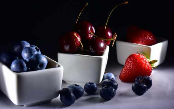 еда, ягода, черника, малина, tapety, meal, плод