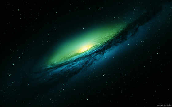 космическим, монитора, уклоном, космос, галактика, speed, звезды, galaxies,