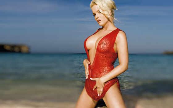 блондинка на море Фон № 43388 разрешение 1920x1200