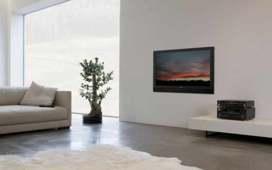 wall, tv, design