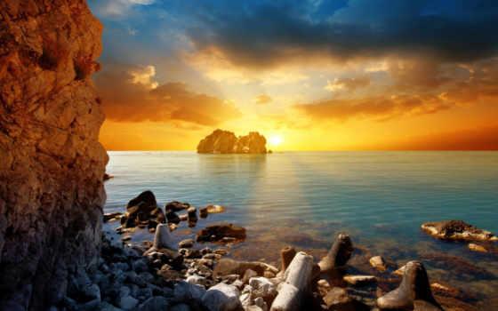 закат, море, sun Фон № 99860 разрешение 1920x1189
