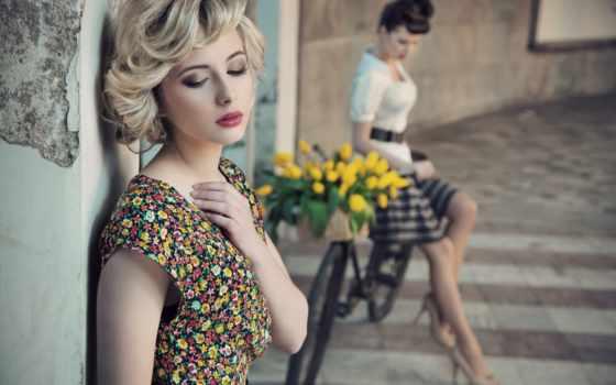 ретро, годов, стиль, стиле, платья, fashion, cvety, платье, прически, порт, col,