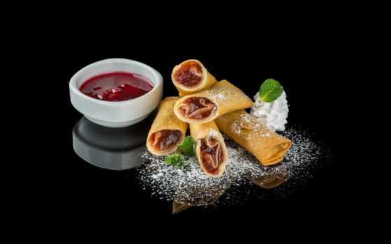 ,, блюдо, пища, кухня, spring roll, taquito, egg roll, жареная пища, закуска, блин, варенье, крем,