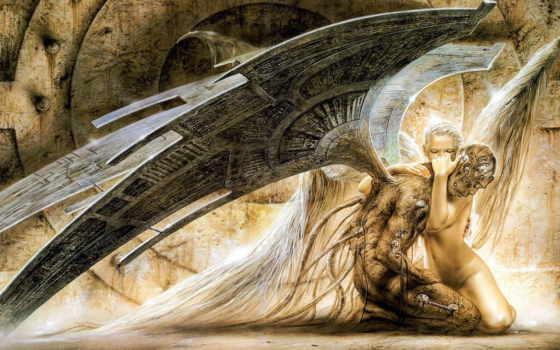 angel, страница, пасть