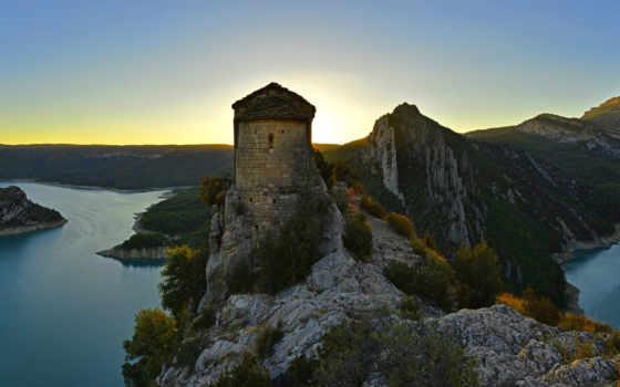 горы, fortress, desktop, испания, free, pictures, дома, красивые, города,