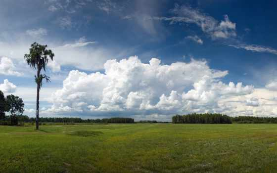 landscape, природа, небо