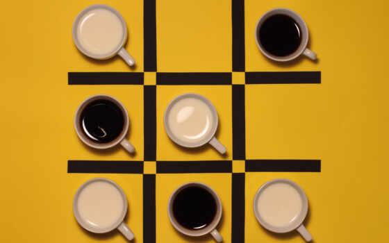 coffee, art, black, напиток, milk, cup, yellow, стена, fine