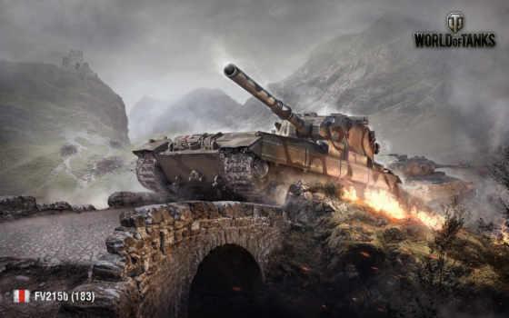 fv215b, tanks, wot