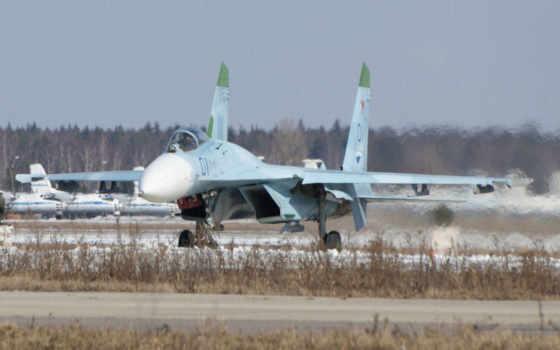 су-27, аэродром