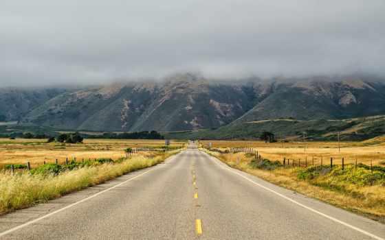 дорога, впереди, горы, длинная, сша, бесплатные, дороги, everything, красивые, landscape, зимняя,