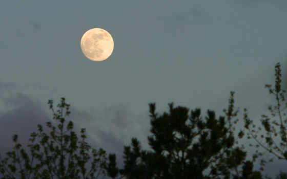 луна, природа