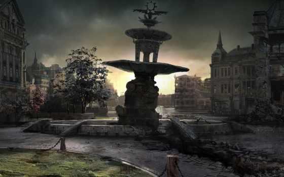 let, города, постапокалипсис