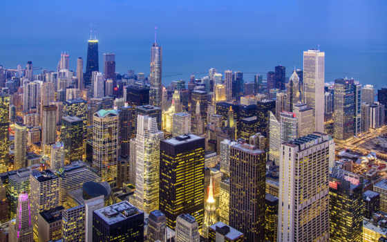 chicago, usa, иллинойс