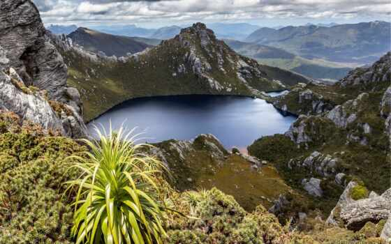 tasmania, desktop, озеро