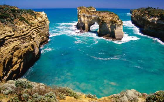 австралия, mile, rock, retreat, landscape,