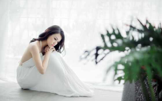 linux, play, asian, sitting, песнь, мар,