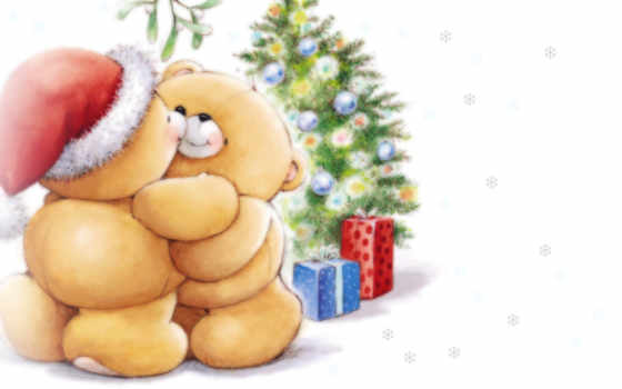мишки, новогодние, любителей, christmas, forever, friends, новый, max, год, funny, images, teddy, free, просмотров, merry, дек, bear, от,