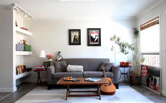 диван, дизайн, комната