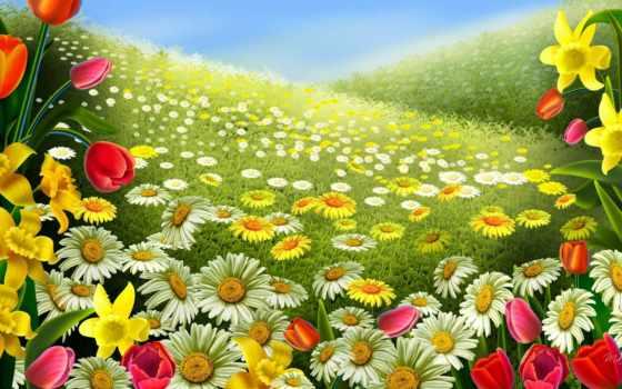 весна,