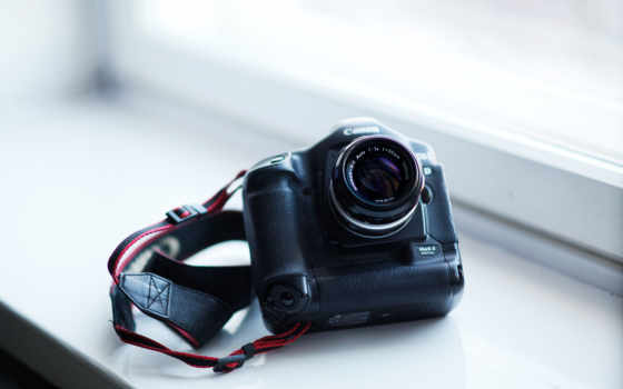 фотоаппарат, canon,  объектив, ремень