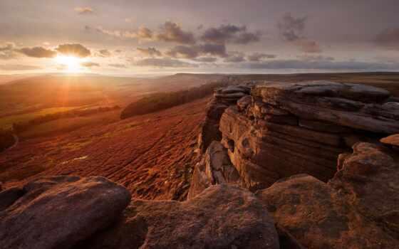 природа, landscape, закат, рассветы, небо, закаты, rock, картинка, природы, ibiza, испания,