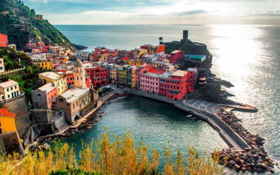 vernazza, italian, italy, город, provincia, spezia, della, cinque, вернацца, terre, европе,