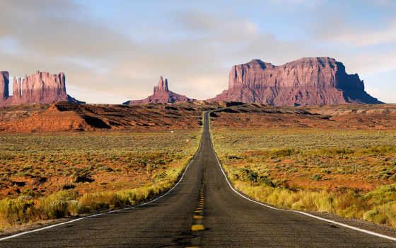 сша, долина, памятник, пустыня, пчелка, рисунок, дорога, nevada,