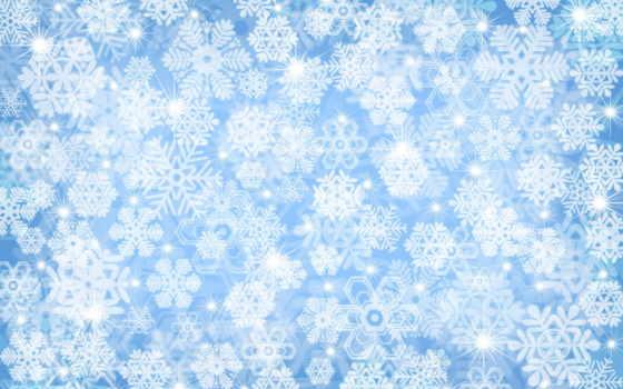 снежинки, снег