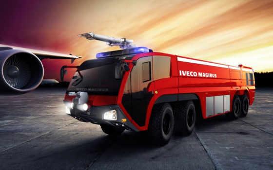 машина, пожарная
