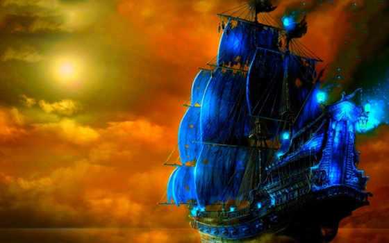корабли, парусные, korabl