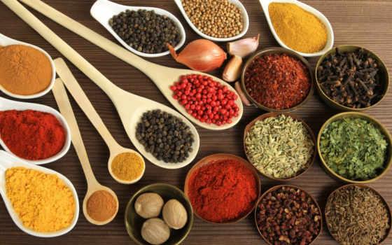 еда, перец, специи, широкоформатные, страница, чеснок, производить, приправы, лук,
