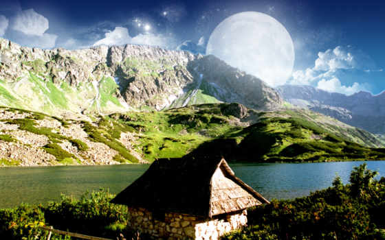 mountain, dreamy Фон № 12500 разрешение 1920x1200