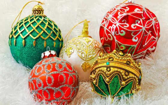 christmas, new, год