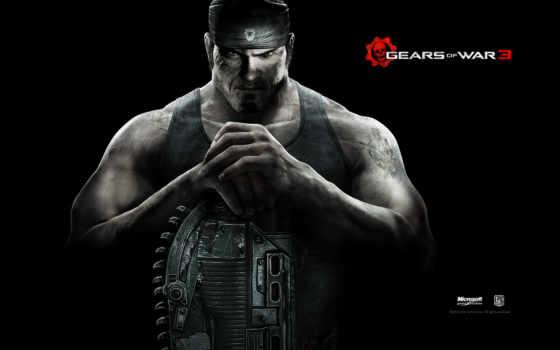 gears, war, маркус