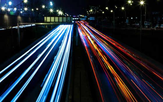 дорога, улица, ночь