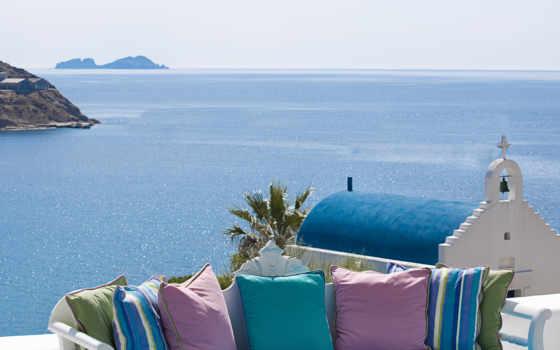 summer, природа, landscape, небо, greek, море,