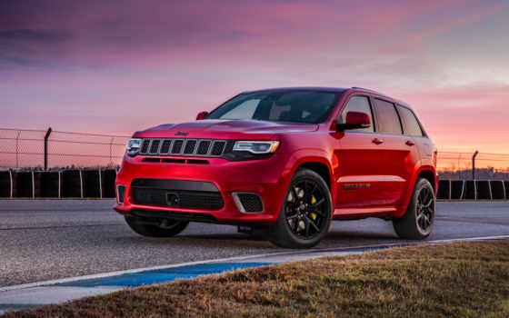 jeep, cherokee, grand, trackhawk, кроссовер, самый, внедорожник, мире, wk,