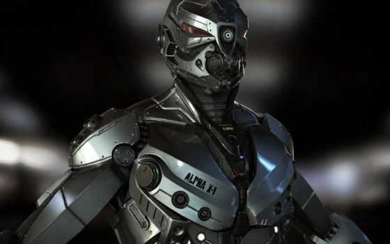 cyborg, cool, robot