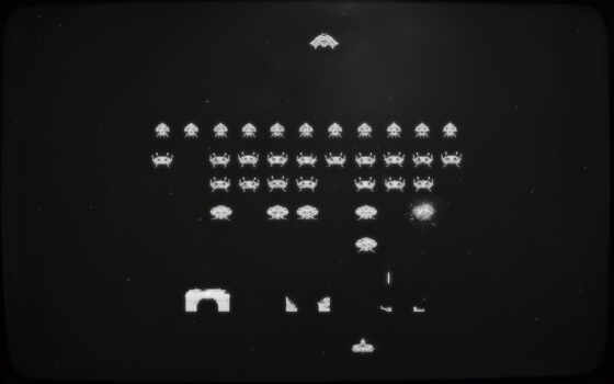space, invaders, desktop, retro, click, orioto, mac,