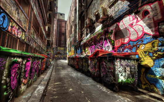 graffiti, hdr, attack
