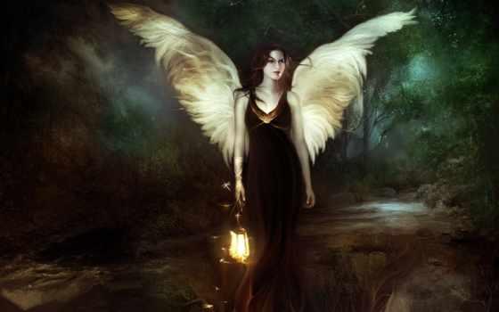 девушка, fantasy, devushki, крыльями, рисунки, angel,