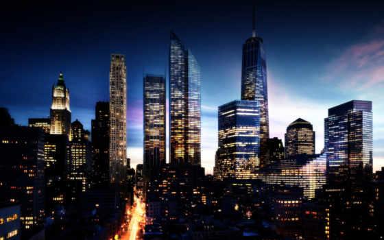 город, ночь, улица, города, городов, здания,