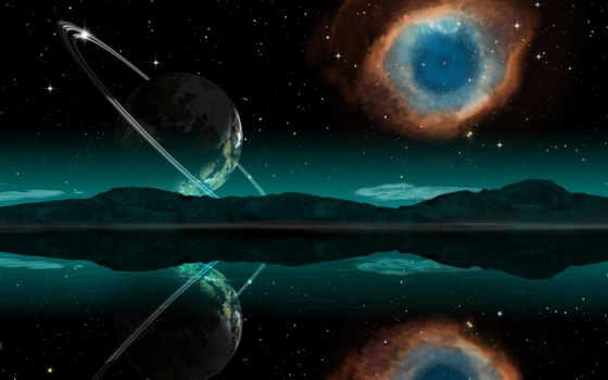 nebula, глаз, god, helix, космосе, туманности,
