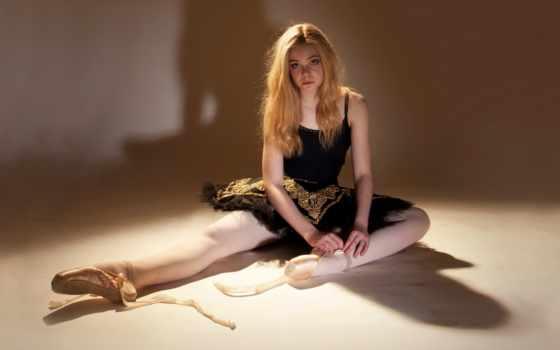 elle, fanning, балет
