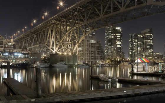 bridge, granville Фон № 17081 разрешение 1920x1200